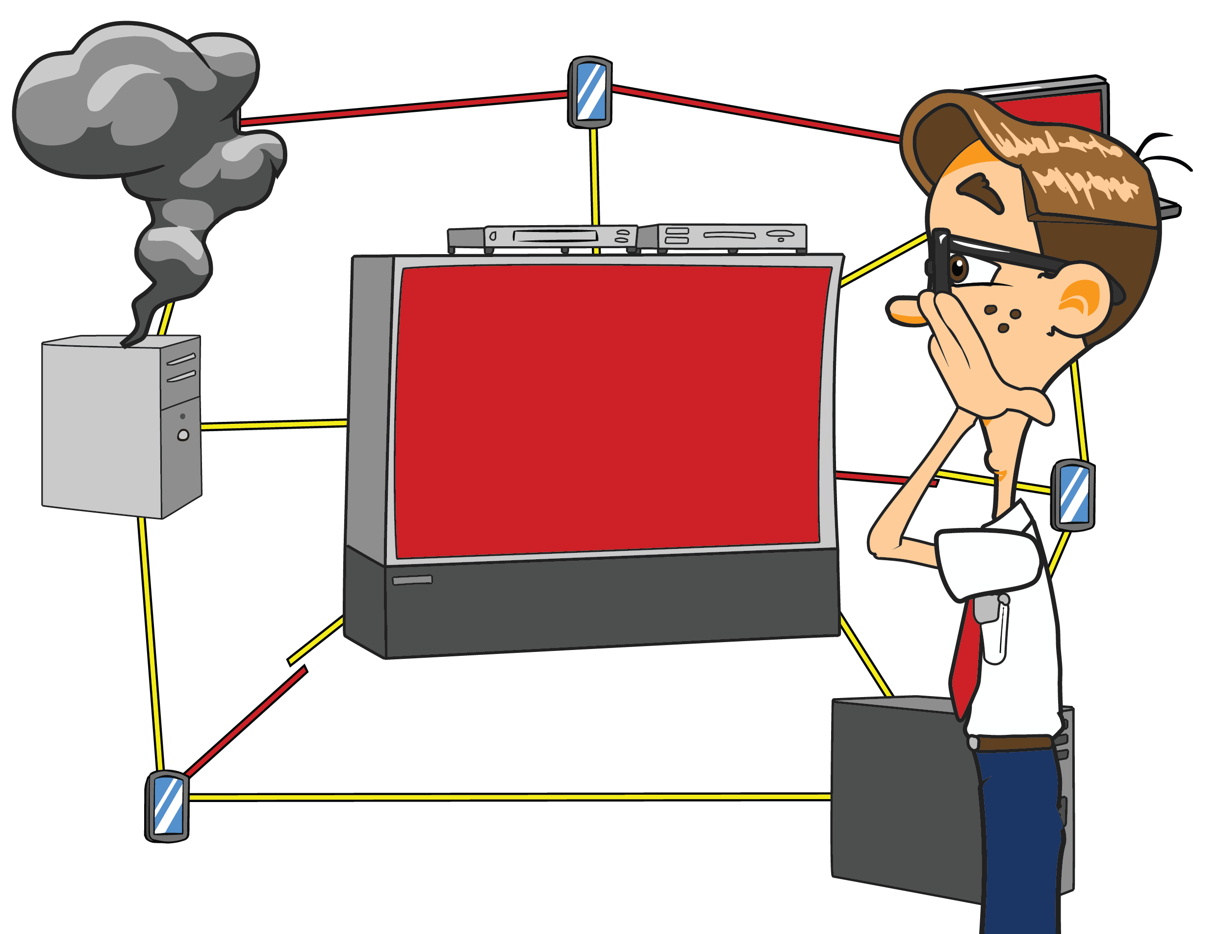 home networking service nerds on call home network troubleshooting