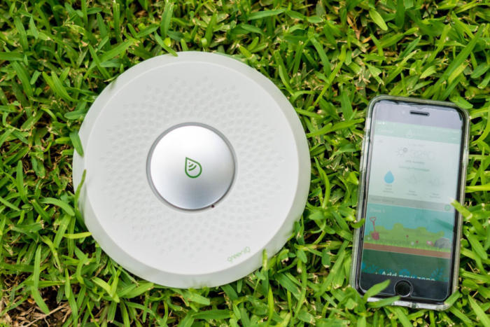 Green IQ smart irrigation system