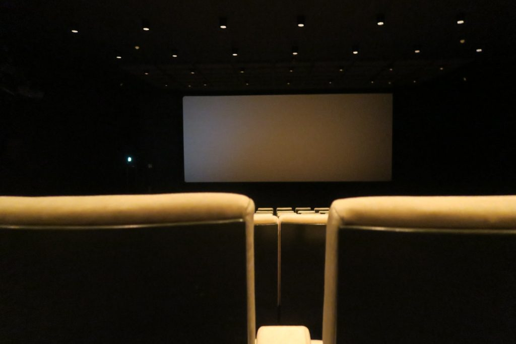 home theater location