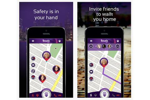 bSafe personal safety app