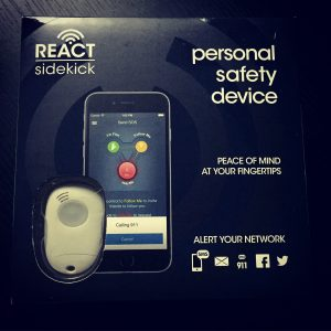 react personal safety device