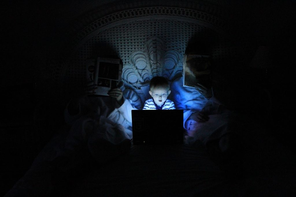 Devices at bedtime