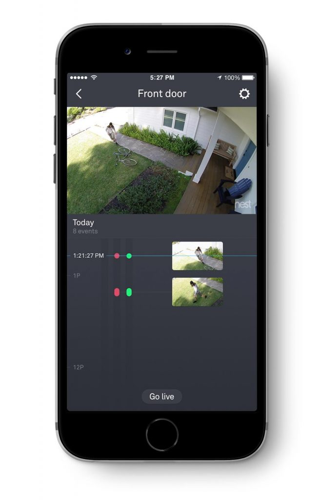 smart home security camera