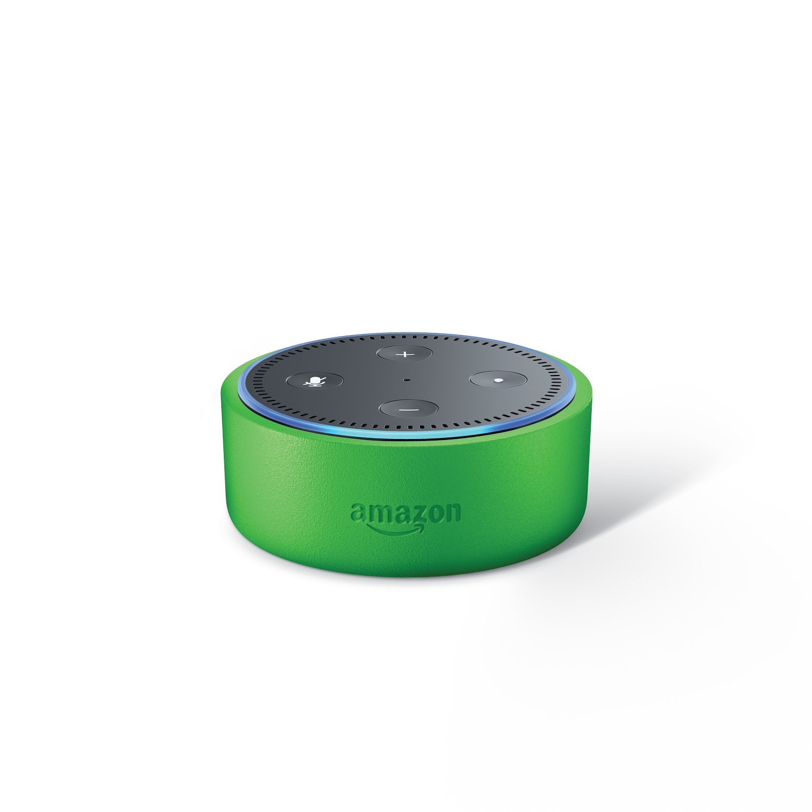 Green colored Echo Dot for Kids